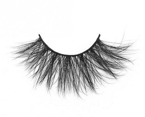 25MM Mink lashes long dramatic mink lashes DJ94 from mink wholesale vendor USA DJ94