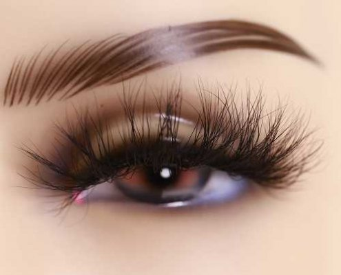wholesale 25mm mink lashes DJ89
