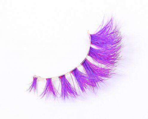 Wholesale colored mink lashes CD89