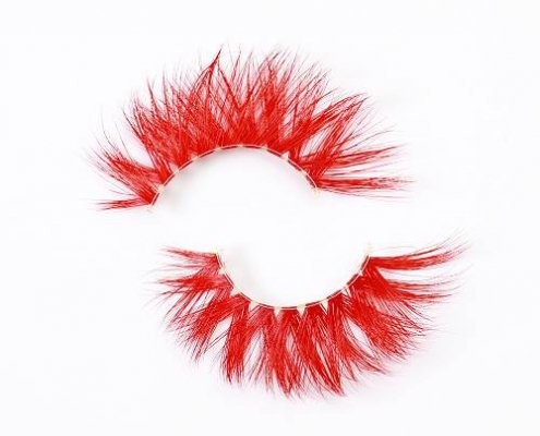Wholesale colored mink lashes CD18