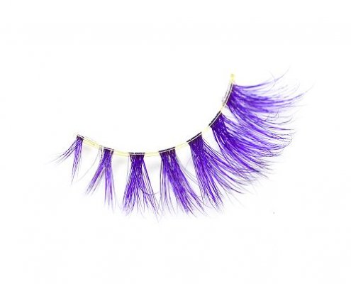 Wholesale colored mink lashes CD88