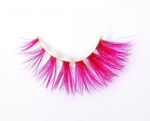 Wholesale colored mink lashes CD87