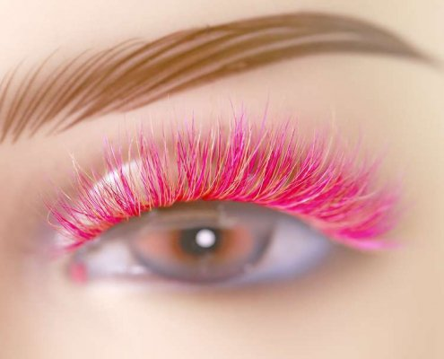 Colorful Mink Lashes CD21