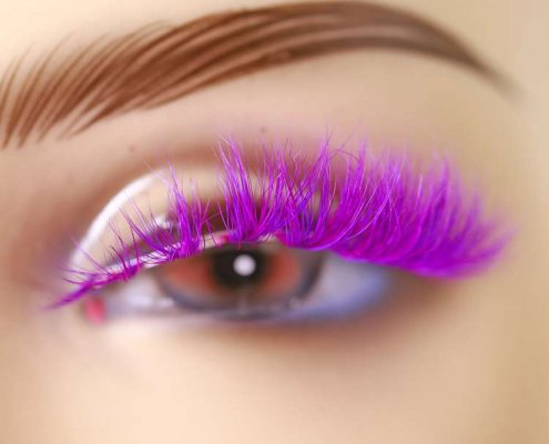 Colorful Mink Lashes CD89
