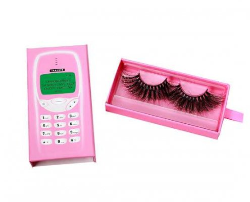 Wholesale telephone drawer eyelash packaging