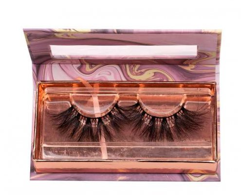 marble Lashes packaging