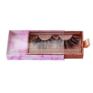 marble lashes drawer packaging