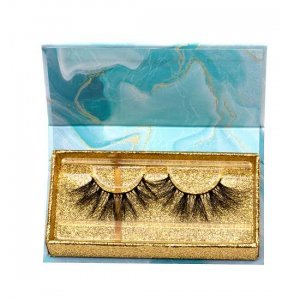 unique marble lashes packagings
