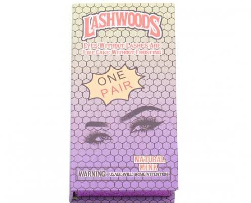 wholesale lashwoods packaging