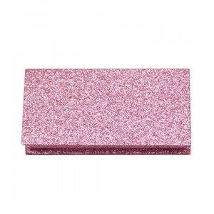wholesale pink glitter lash boxes